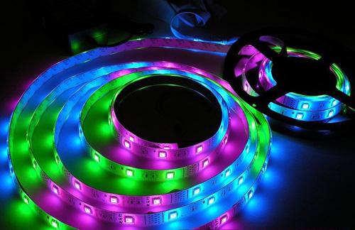 Цветомузыка из светодиодной rgb ленты от lpt порта